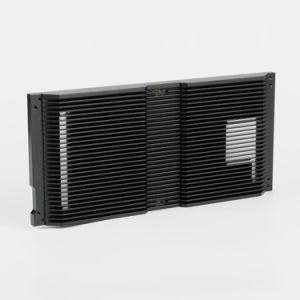 高品質によってカスタマイズされるアルミニウムCNCの精密機械化の部品アルミニウム脱熱器