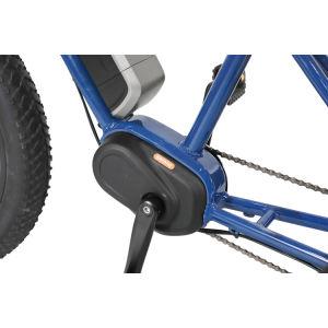 1000W a mediados de Motor de accionamiento eléctrico de la montaña de tres ruedas con frenos de disco