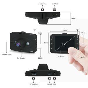 720p/1080P Auto DVR mit/Ausfüllungs-IR und 2.4  TFT