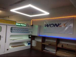 Dimmable 4 paga l'ufficio che l'indicatore luminoso lineare connette liberamente l'illuminazione dell'ufficio