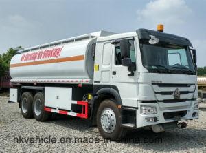 Sinotruk HOWO 25 Cbm caminhão tanque de óleo 20 Ton