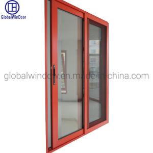 En aluminium/aluminium fenêtre coulissante en verre trempé Grill Design