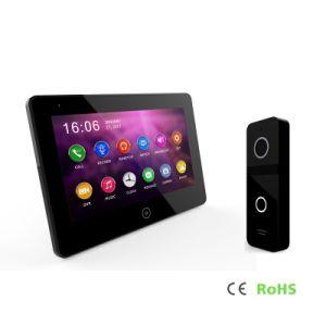 HDのタッチ画面ビデオDoorphoneの通話装置のインターホン7インチのホームセキュリティーの