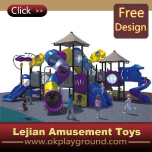 Les enfants de l'Amusement PE Terrain de jeux extérieur (X1435-3)