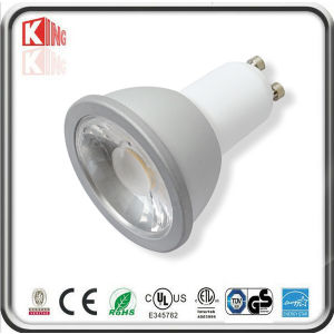 Aluminium COB LED Downlight GU10 5.5W 35degree 500lm (KING-GU10-COB5E)