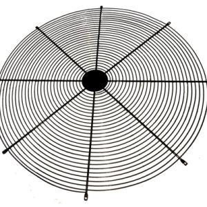 Protector del ventilador de metal redondo el cable para ventiladores industriales