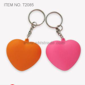 심혼 모양 Keychain 빛 (T2085)