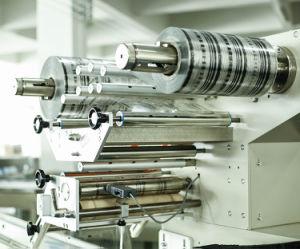 Automático homologado CE/ Palo Horizontal Cookie de chocolate de alta velocidad de la máquina de embalaje