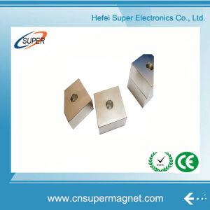 Высокое качество N35 неодимовый магнит блока цилиндров с отверстием