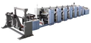 Высокая скорость печати Flexographic Medium-Range машины