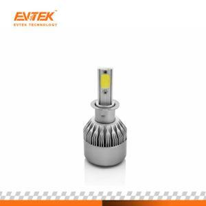 熱い販売C6 H3 LEDのヘッドライト72W 7600lmの穂軸LEDの自動車ヘッドライト