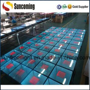 LED étanches IP67 de plein air 3D'éclaireur plancher de danse à LED de l'infini