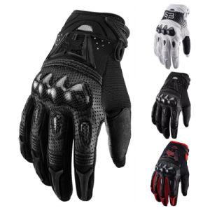 Gants de sport en fibre de carbone de qualité pour moto Rider (MAG13)