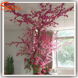 Bela Piscina Artificial Tunk Real Peach Blossom Tree