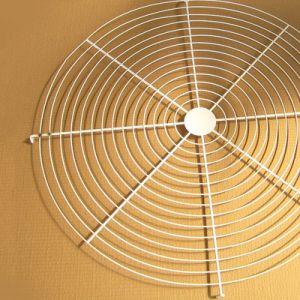 Kurbelgehäuse-Belüftung beschichteter galvanisierter Stahldraht-Rasterfeld-Ventilator-Schutz