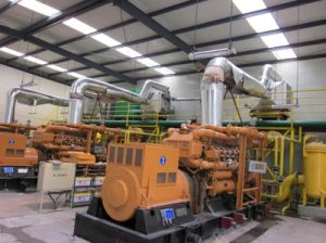 Faible coût générateur de puissance (10kw à 5 MW) Gaz naturel