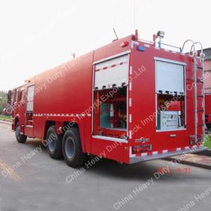 중국 20cbm Sinotruk HOWO 화재 물 탱크 트럭 또는 화재 싸움 트럭