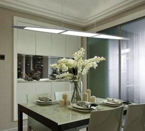 Origineel Ontwerp 6mm van Adot het Anodiseren van de Dikte de Uiterst dunne LEIDENE van het Aluminium Lamp van de Tegenhanger en het Hangen Licht