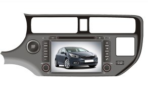 8 inches in-Dash Car Entertainment system for KIA K3 KIA Rio (HT9808)
