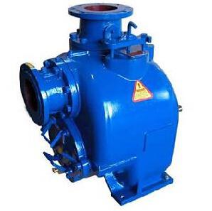 De solides de manutention de la pompe à amorçage automatique