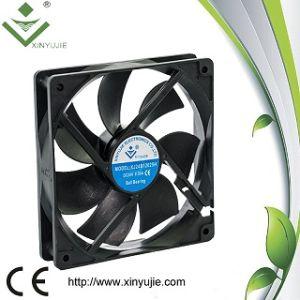 C.C. Fan 4 Wires Leading Cooling Fans de 120X25m m 12V 24V Low Noice para Computer Servers