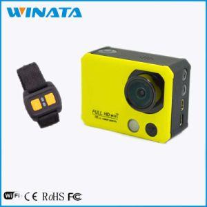 пульт ДУ 1080p HD WiFi 170 градусов широкоугольная линза для использования вне помещений верхней части камеры действий 2015