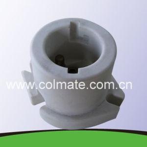 B22 de cerámica/porcelana portalámparas de bayoneta con homologación UL
