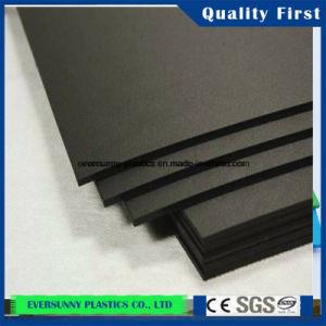 Оптовая торговля в Шанхае черного цвета и четкие Professional литого акрилового листа