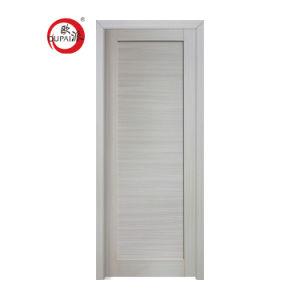 Venta caliente de un estilo moderno interior Puerta de la sala de madera simple