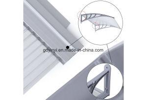 De Openlucht Duidelijke Stevige Plastic Luifel van het Polycarbonaat DIY (yy1000-B)