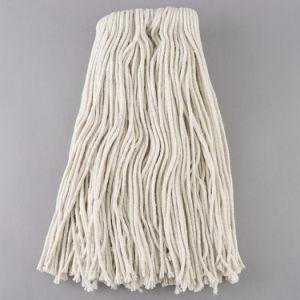 Testa bianca naturale resistente del Mop del cotone dei 4 filati della piega