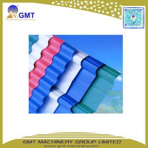 Seule+PVC multi-couches+PP+Pet tôle de toit de tuiles en carton ondulé de bord de la machine de l'extrudeuse