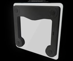 180kg/400lb électronique numérique Bluetooth l'échelle de l'Analyseur de graisse corporelle Salle de bains