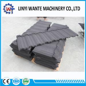 高品質によって電流を通される鋼板の石の上塗を施してある金属のNosenの屋根瓦
