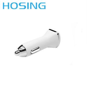 Универсальные портативные 2 порта USB автомобильное зарядное устройство для мобильных телефонов