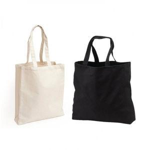 29897431d Tiendas de impresión personalizada lienzo de algodón bolso con cremallera