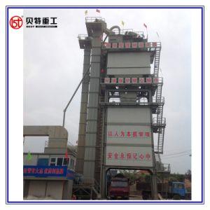 La mezcla caliente de alto rendimiento 80 T/H planta mezcladora de asfalto con formulario de contenedor del anaquel