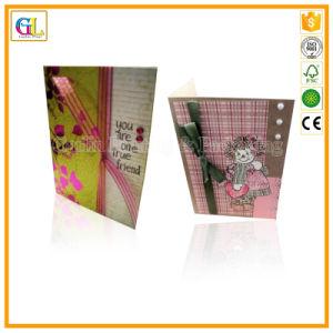 Scheda di carta del regalo su ordinazione di alta qualità