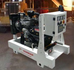 Yanmar 전기 발전기 5-48kw 6-60kVA 대기 방음 침묵하는 발전기