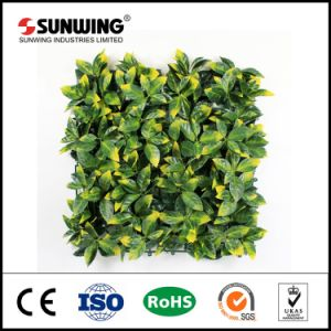 Hot Sale 50x50cm recouvert de PVC Case artificielle des plantes de couverture avec la CE