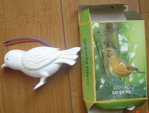 Conception d'oiseaux Oiseau Canari sonnette Carillon sonore