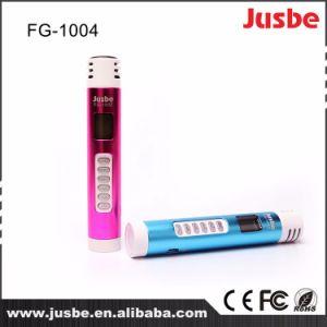 2.4G無線bluetoothによって着色される小型アルミニウムサウンド・システムのスマートなマイクロフォン