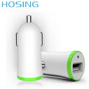 Светодиодный индикатор универсального единого автомобильное зарядное устройство USB Mini Адаптер 2.1A