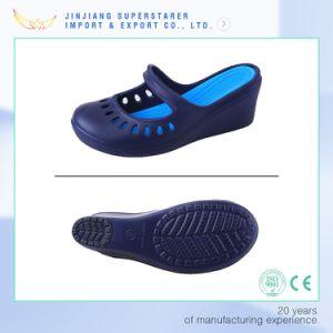 Femme Sandales de filtre en coin, EVA Chaussures croissante de la hauteur