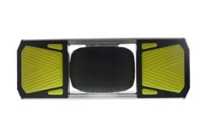Una de las ruedas de alta potencia de monopatín eléctrico con luz LED