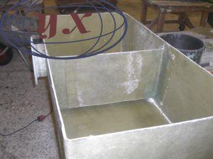 下水または海水のための中国GRP FRPタンク