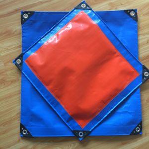 4mx6m Blau Farbe verstärkte Hochleistungs-PET Gewebe-Plane