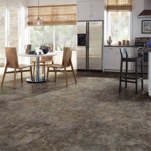 Les patrons de pierre auto-adhésif des carreaux de sol en vinyle de luxe pour un usage commercial
