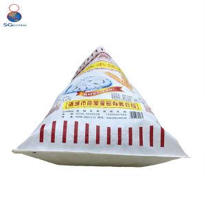 Customized 50kg saco de tecido PP simples de adubo de embalagem