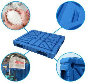 高品質の4方法打撃の空の耐久のHDPEのプラスチックパレットはカスタマイズすることができる